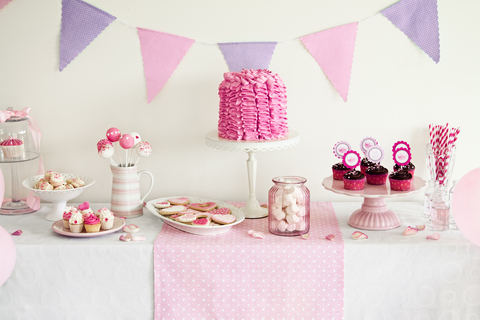 girl baby shower theme