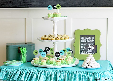 Baby Shower Ideas For Twins Boy And Girl