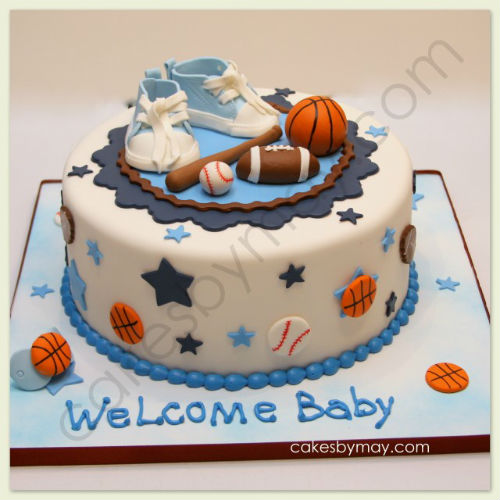 sports theme baby shower cake baby shower cakes you can make for a