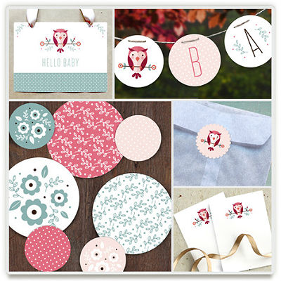 better babyshower ideas party kits