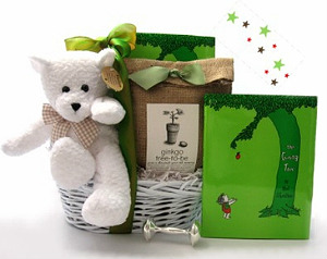 Baby Shower Gift Basket Idea