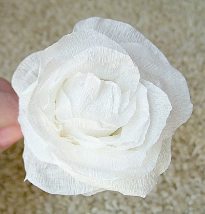 easy tissue paper flowers and ideas