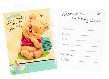 graphic about Printable Winnie the Pooh Baby Shower Invitations named Pooh kid shower strategies
